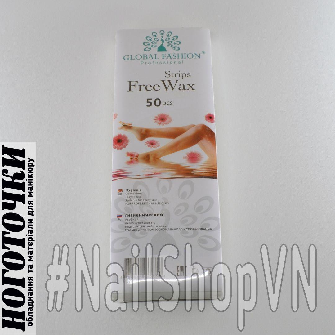 Полоски для депиляции Global Fashion Free Wax Strips 50