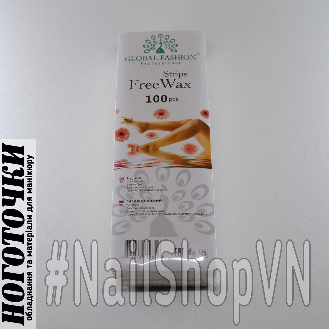 Полоски для депиляции Global Fashion Free Wax Strips 100