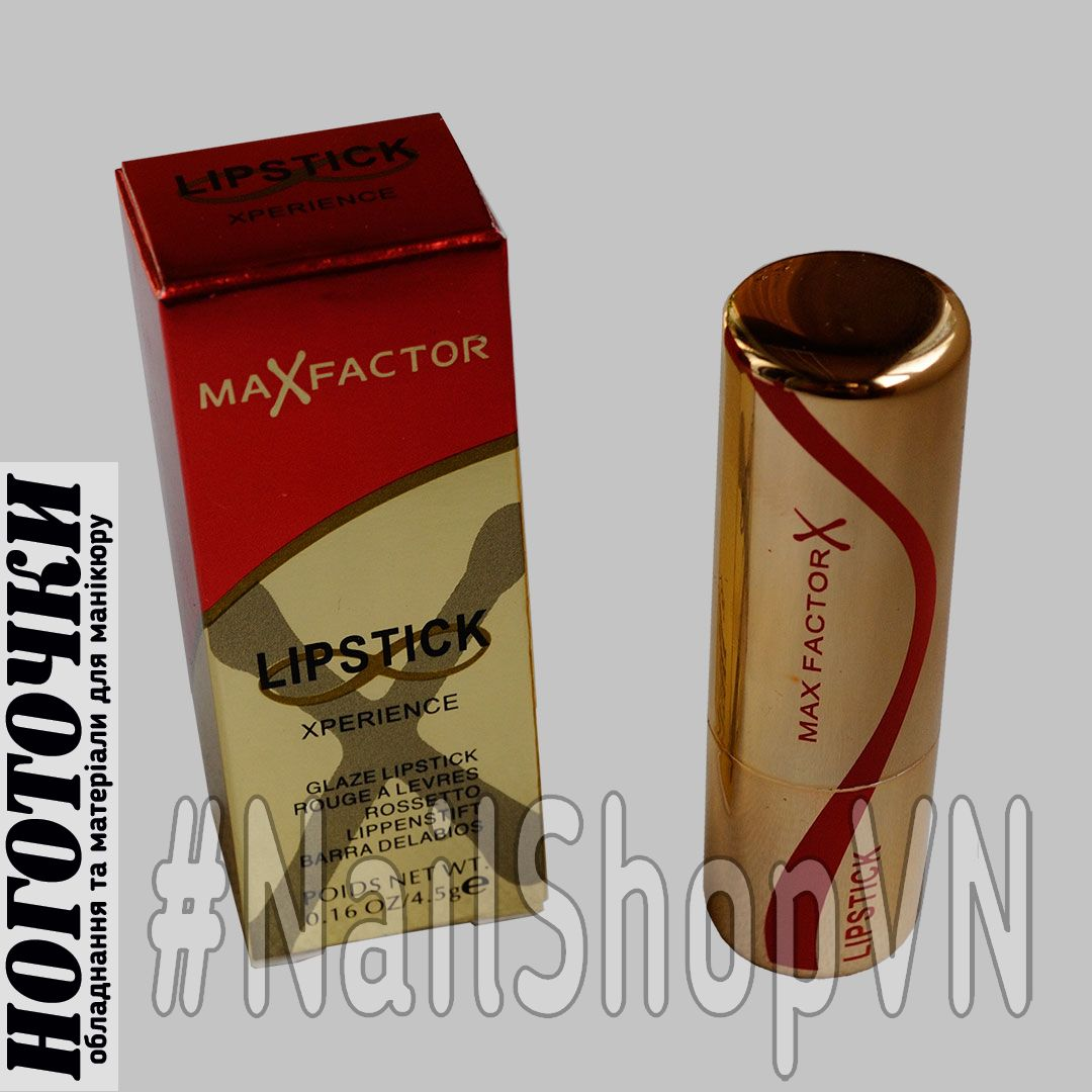 Помада Max Factor Lipstick Xperience Red/Gold