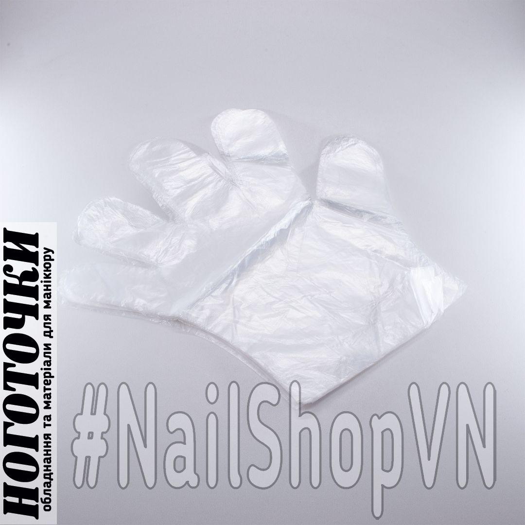 Перчатки полиэтиленовые Disposable Plastic Gloves 30шт