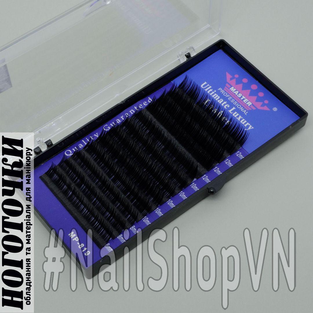 Ресницы на ленте Master Professional 012 С 8-10-12mm