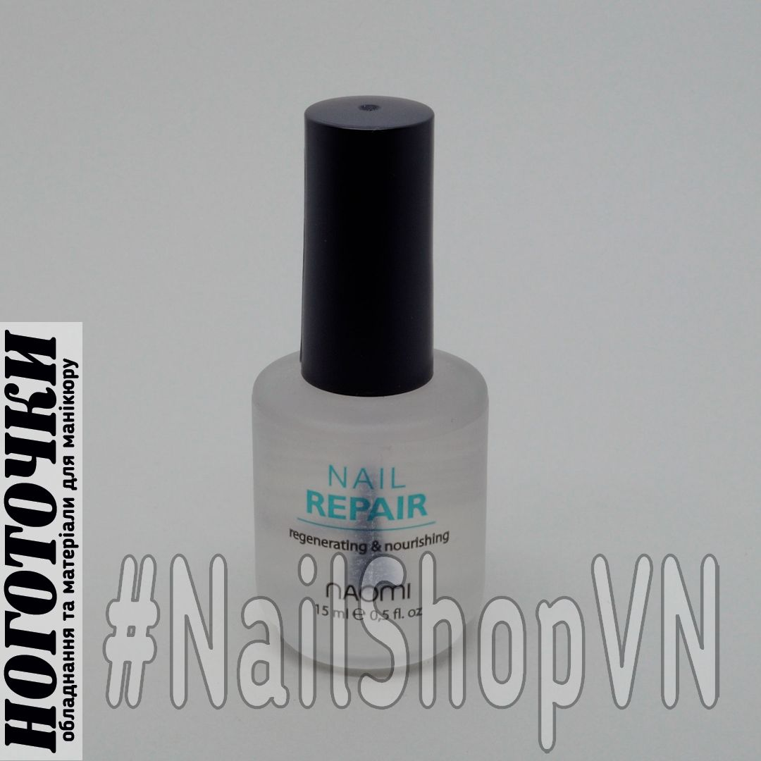 Средство для восстановления ногтевой пластины Naomi Nail Repair 15ml