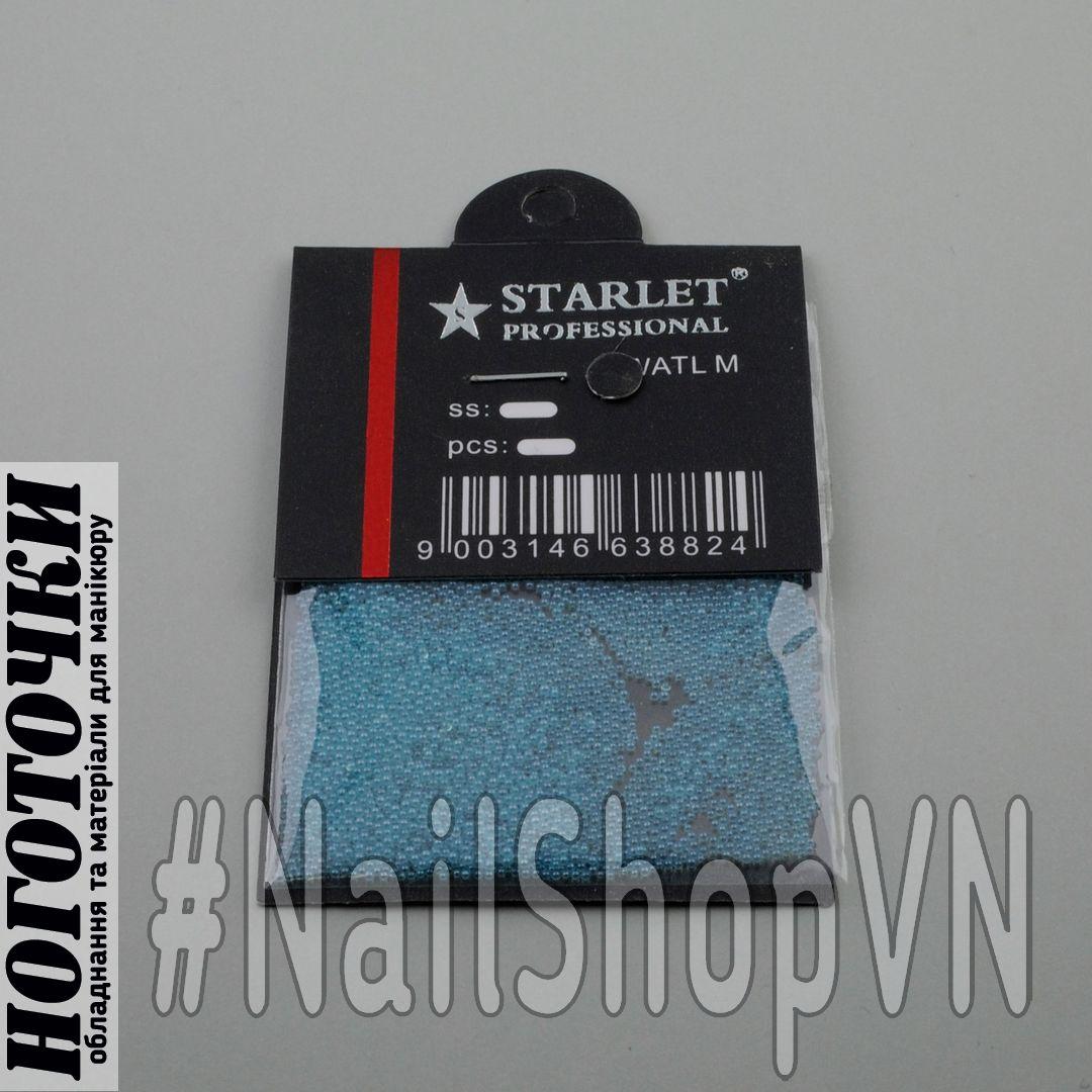 Бульонки Starlet Professional полупрозрачные голубые