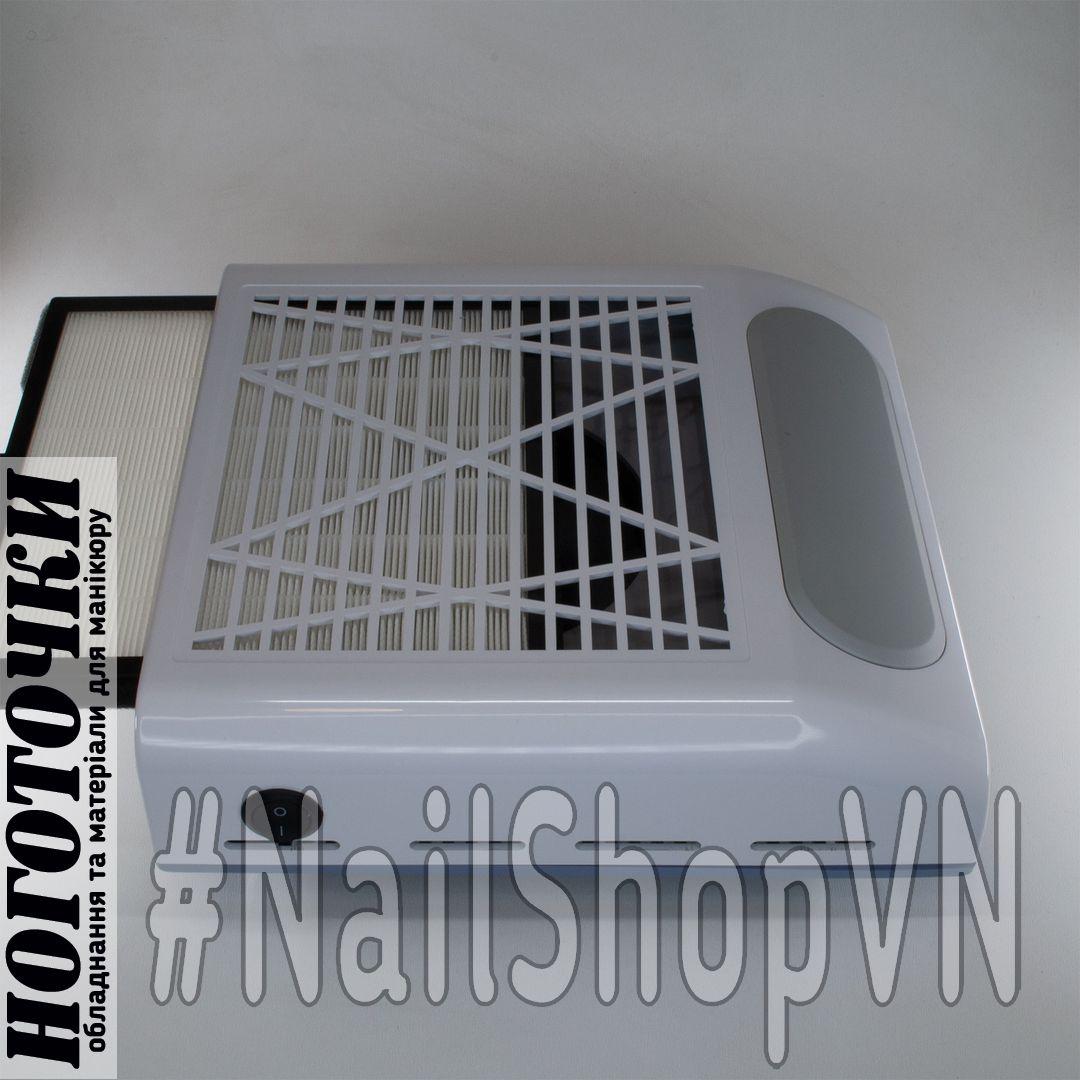 Вытяжка маникюрная Nail Dust Collector BQ-858-8