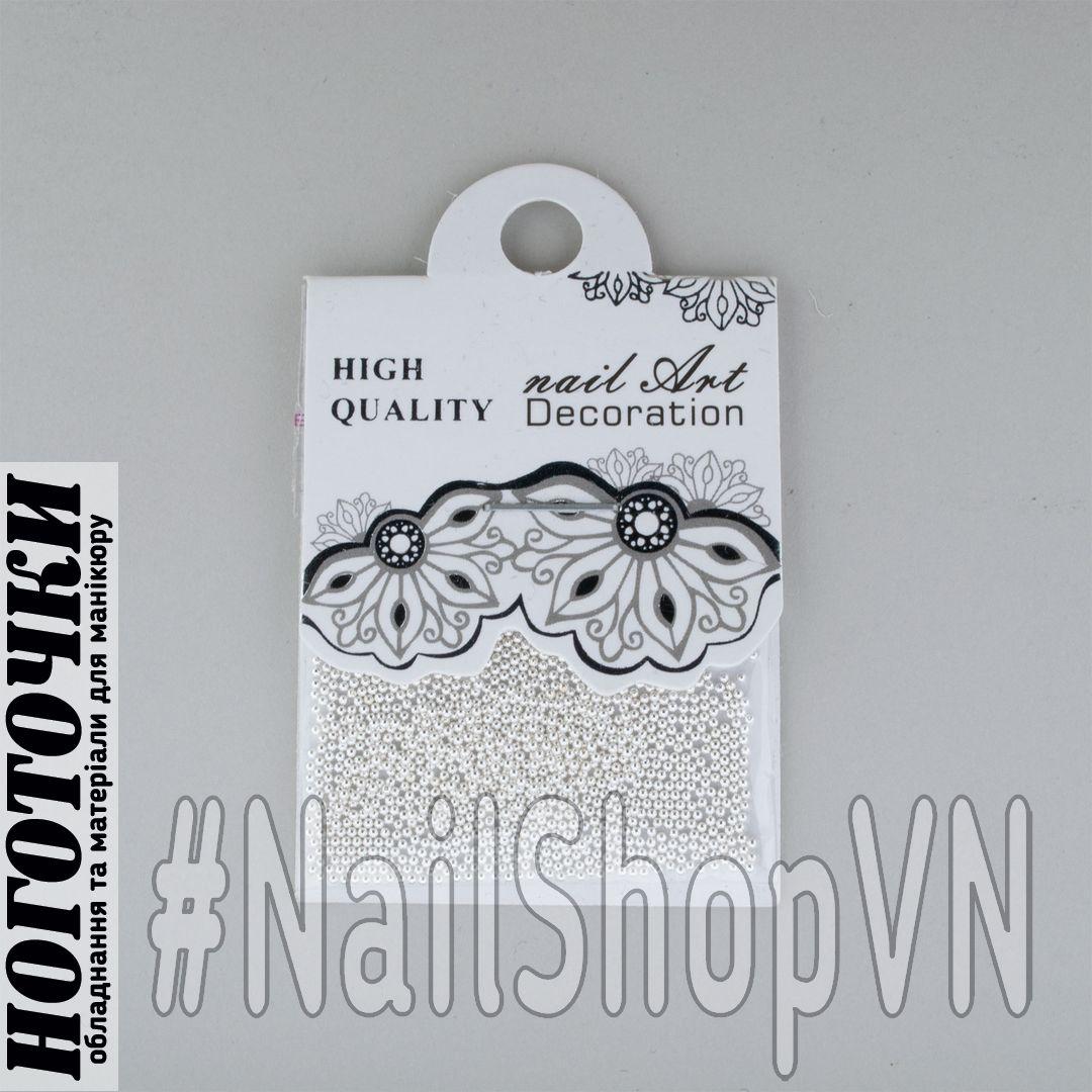 Бульонки 'Nail Art Decoration' Silver
