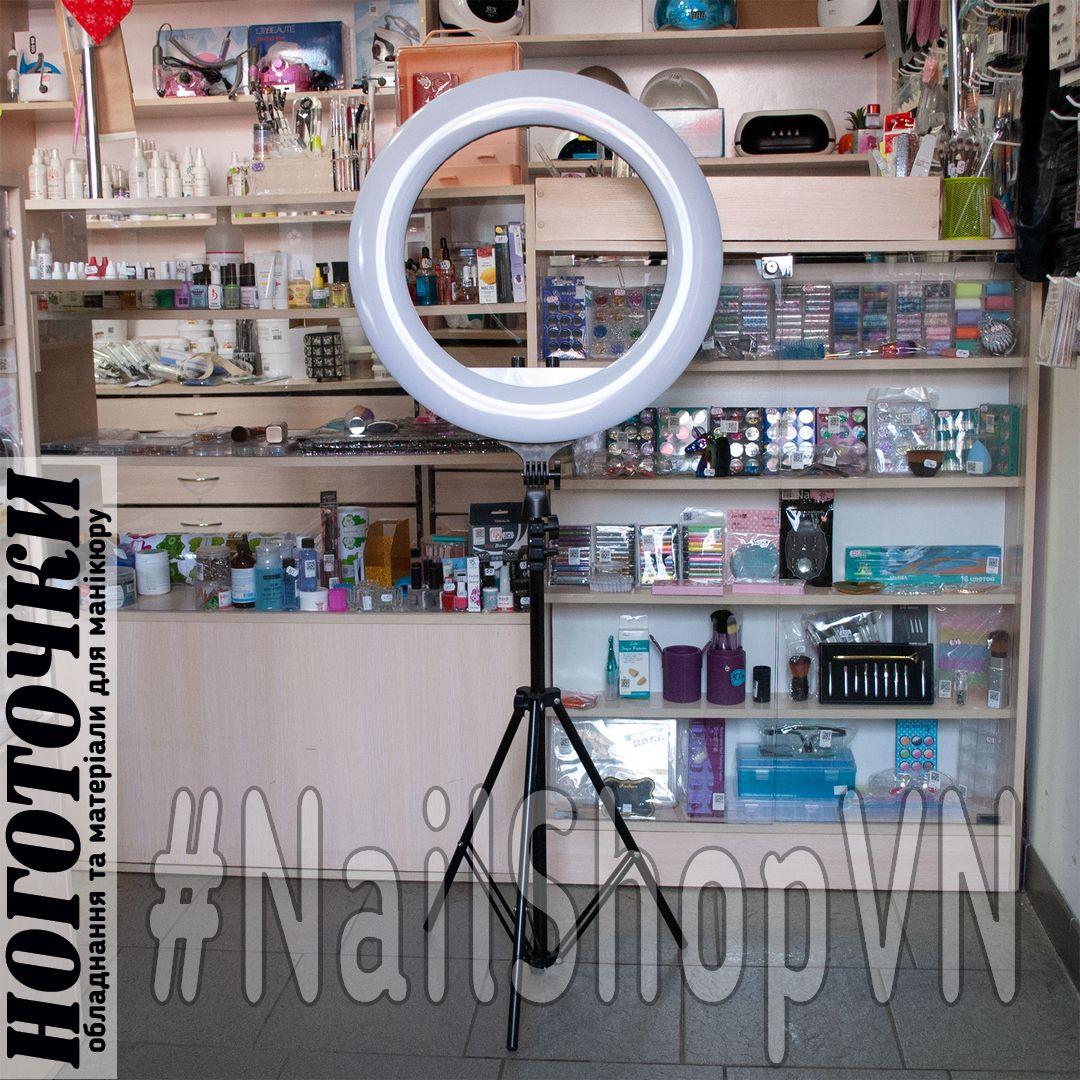 Лампа кольцевая для макияжа RL-21-LED