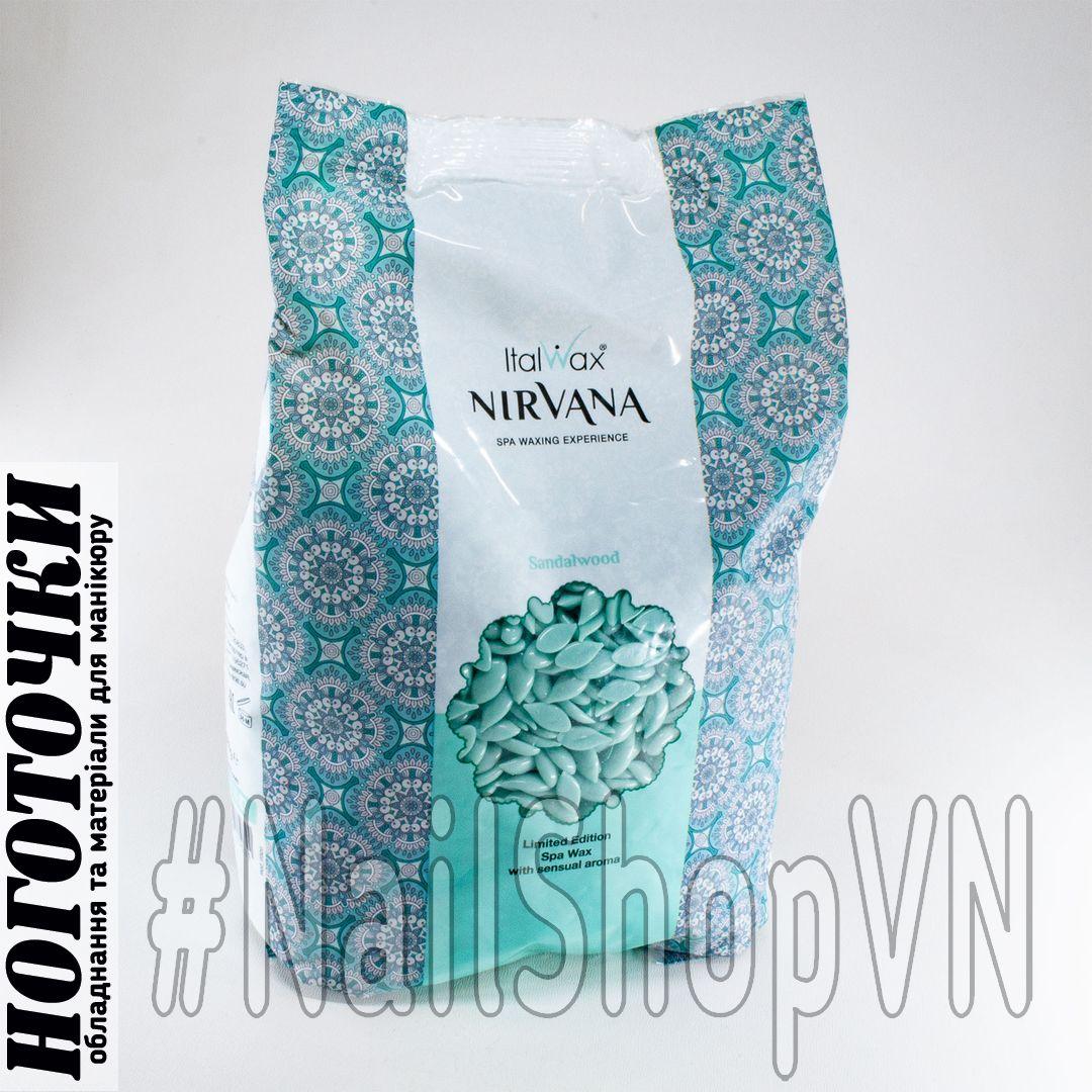 Воск горячий гранулы ItalWax Nirvana Sandalwood | Сандал 1000g